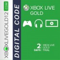 2 Days (48 hours) Xbox Live Gold Trial (XBOX ONE/360)