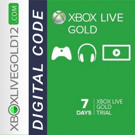 7 Days Xbox Live Gold Trial Membership (XBOX ONE/360)