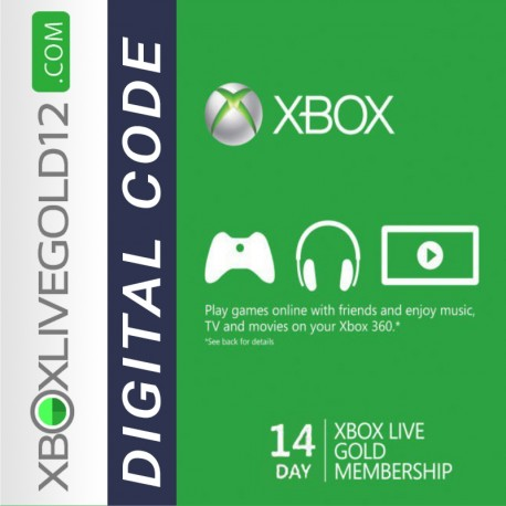 14 Days Xbox Live Gold Trial Membership (XBOX ONE/360)