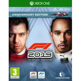 F1 2019 Codemasters (XBOX ONE)